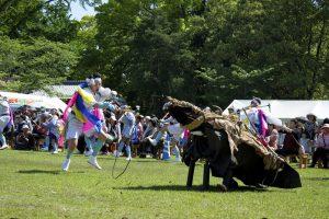 4年に1回 奉納される「谷の太郎踊り」